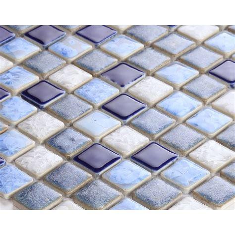 ceramic mosaic tile backsplash blue porcelain square mosaic tiles design glazed ceramic tile wall kitchen backsplash ds 552