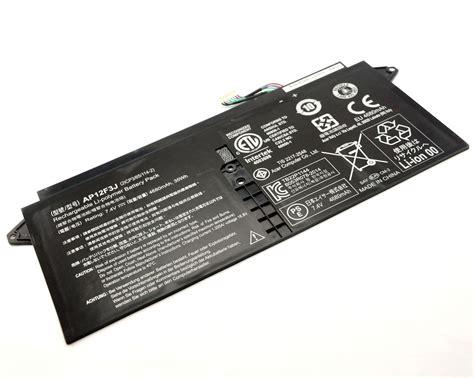 Original Baterai Acer Aspire S7 13 3 S7 391 S7 191 53314g12ass S7 39 genuine acer aspire 13 3 quot s7 s7 391 s7 391 53314g ap12f3j 35wh ultrabook battery