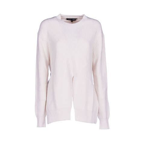 clothes proenza schouler front slit sweater io06zxh and fashion sneakers