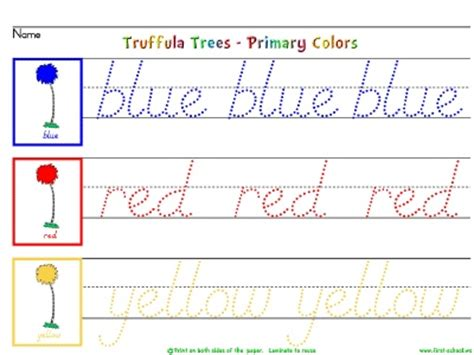 learn primary colors 019 learn to write color words primary secondary with the