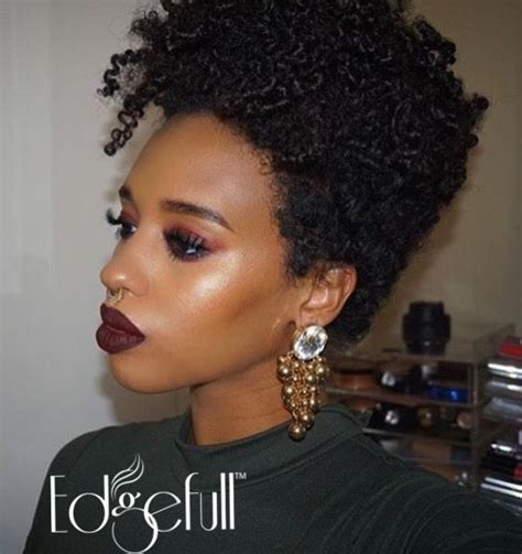 natural hair cut for thin edges 386 best images about tapered natural cuts on pinterest