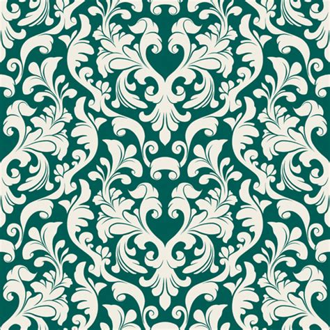 set of seamless ornament pattern design vector 02 vector