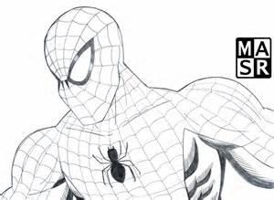 spider man sketch by rattrap587 on deviantart