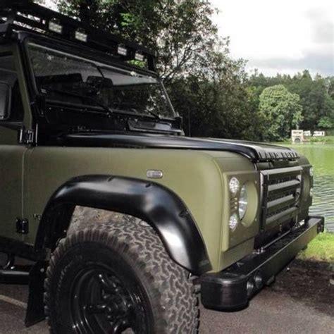 land rover defender matte black landrovers uk arkonik defender 110 lhd matte od green