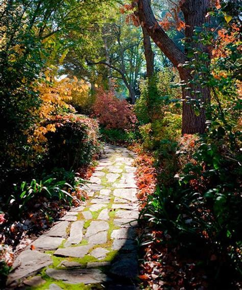 fall landscaping ideas fall leaves decorating gardens and backyards for outdoor