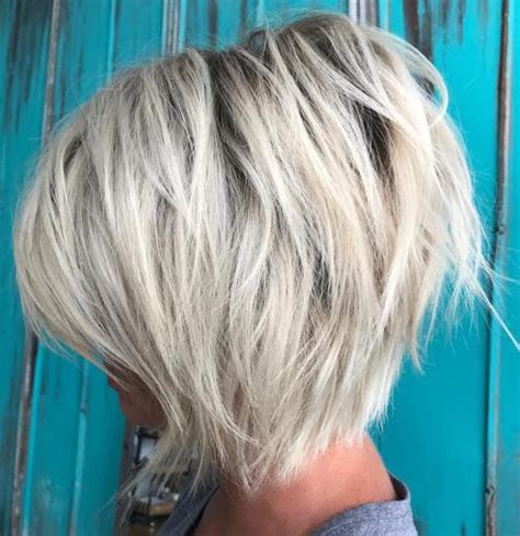 short hair with lots of color 70 cute and easy to style short layered hairstyles