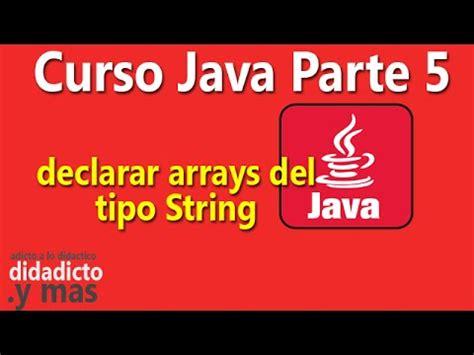 manejo de cadenas en java netbeans tutorial de programacion java 17 string manejo de