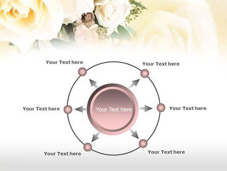 Teh Mawar templat powerpoint teh mawar buket pengantin gambar latar
