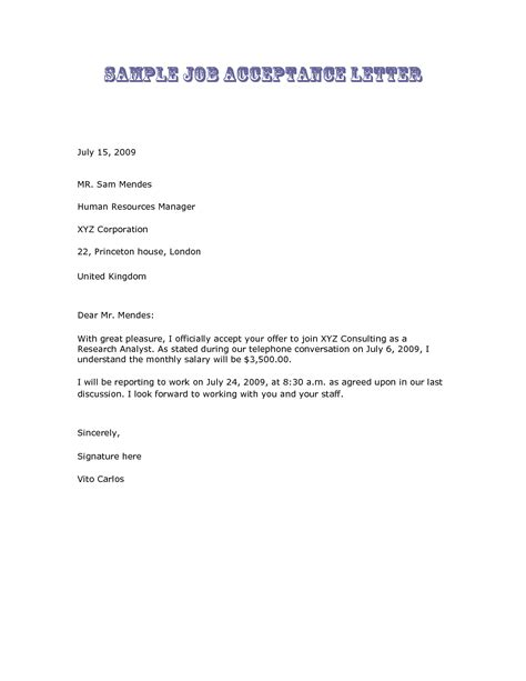 Letter Format Of Employment Follow Up Letter Format Best Template Collection