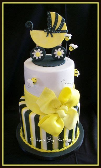 to bee baby shower cake by cakes by roselyn via