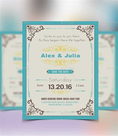 solemnization invitation card template invitation card template 27 free sle exle format