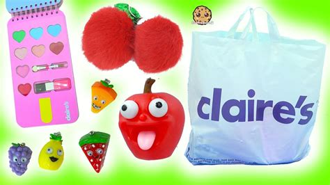 My Items From Claires 3 by S Haul The Cutest Food Items