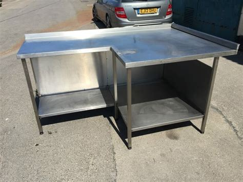second hand stainless steel bench secondhand catering equipment stainless steel tables