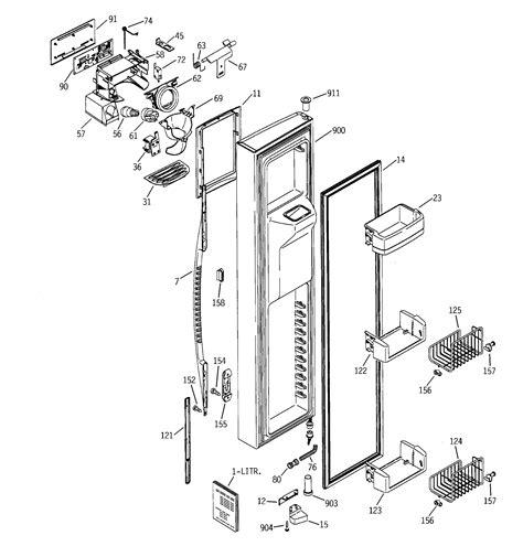 ge profile refrigerator diagram refrigerator parts ge refrigerator parts diagram list
