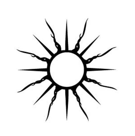 tribal sun tattoo meaning tribal sun tattoos feel confident wearing your unique