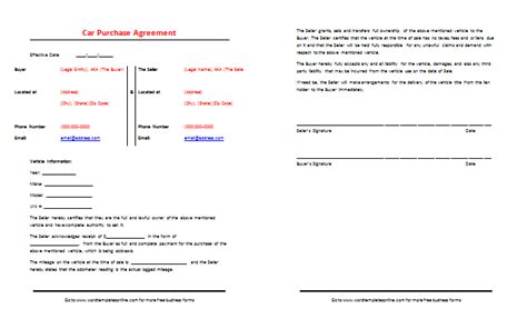 sale agreement template south africa car purchase agreement template best sles