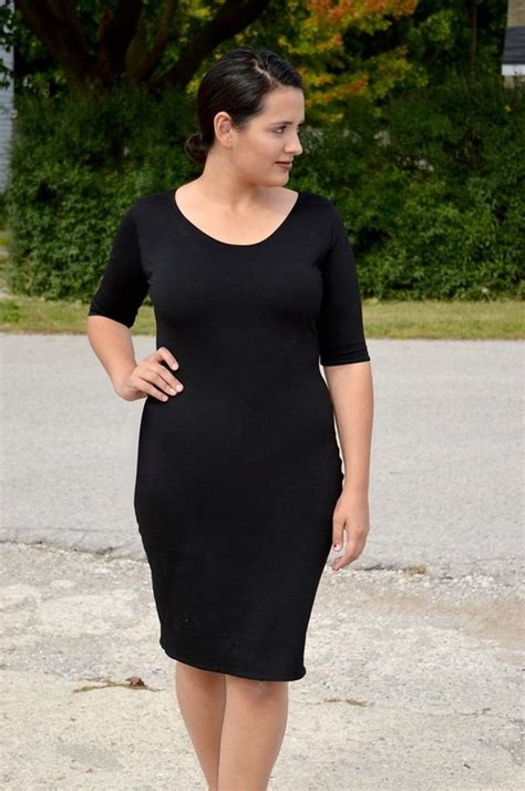 pattern for black dress chic little black dress pattern allfreesewing com