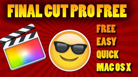 final cut pro hack for windows 2017 final cut pro free os x imac new for 2017 quick no hack