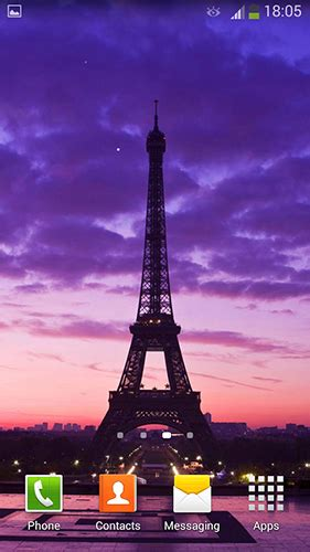 wallpaper android paris paris by cute live wallpapers and backgrounds live
