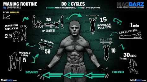 16 killer intermediate calisthenics workouts bar
