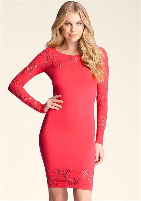 Cicilia Dress cicilia lace dress bodycon dresses bebe