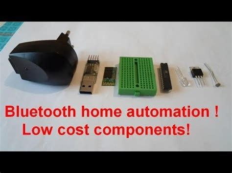 home automation tutorial atmega8 bluetooth any cell