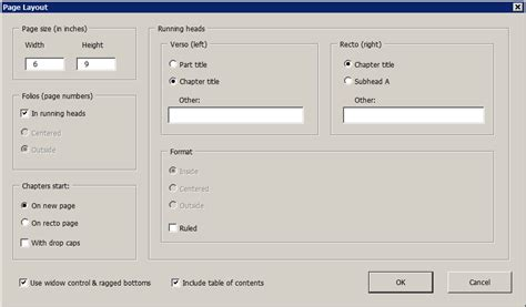 word layout generator bookmaker for microsoft word