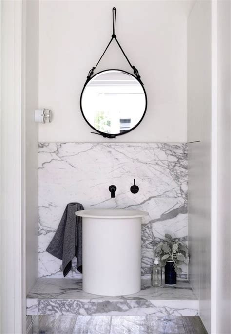 hanging a bathroom mirror floating vanity transitional bathroom meredith heron