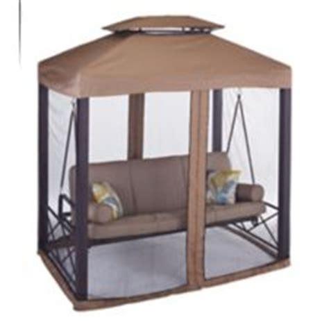 canadian tire patio swing lit balan 231 oire canvas valencia avec moustiquaire
