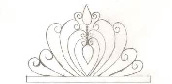 tiara template princess tiare template enjoy crown fondant