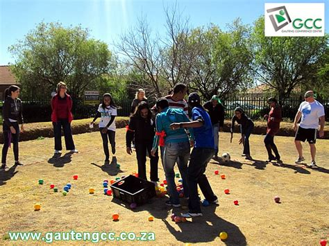 team bank standard bank team building event at gauteng conference centre