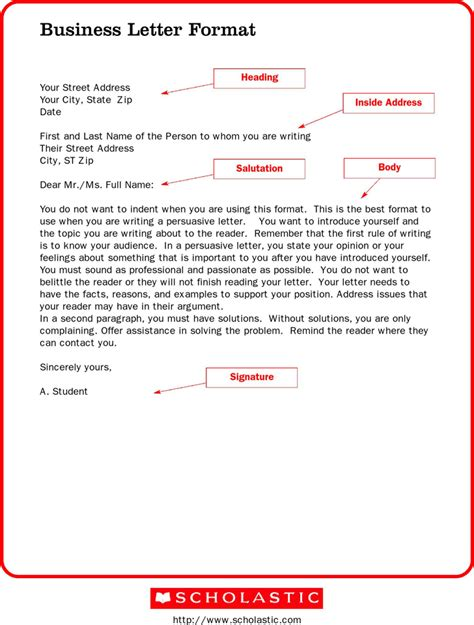 Business Letter Format For Small formal business letter format the best letter sle
