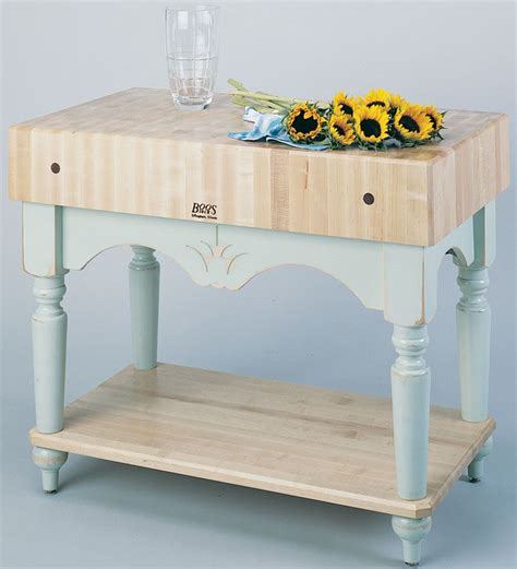 john boos calais kitchen island table 14 colors
