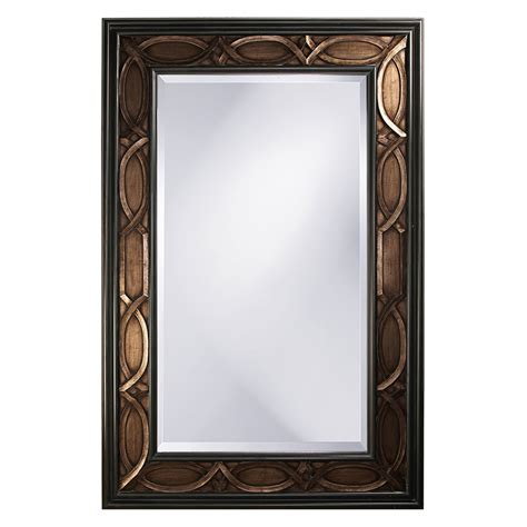 rectangle mirror charles bronze rectangle mirror howard elliott collection wall mirror mirrors home