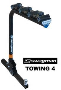 swagman 64675 towing trailer hitch 4 bike racks