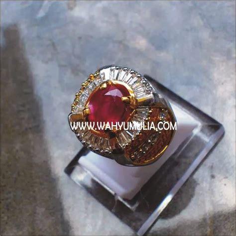 Cincin Batu Ruby Memo 8 batu permata ruby sold toko batu permata jual batu