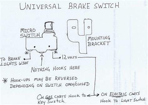 golf cart light wiring diagram free wiring