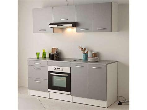 cuisine 駲uip馥 pas cher conforama meuble bas 60 cm 1 tiroir 2 caissons spoon color coloris
