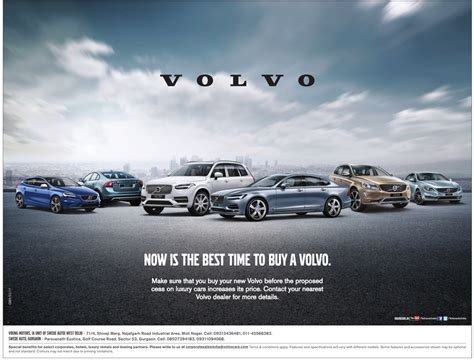 volvo advertisement view best collection of volvo cars advertisements in newspaper
