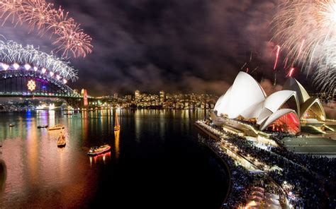 new year in sydney happy new year new year fireworks in sydney opera house australia desktop hd wallpaper