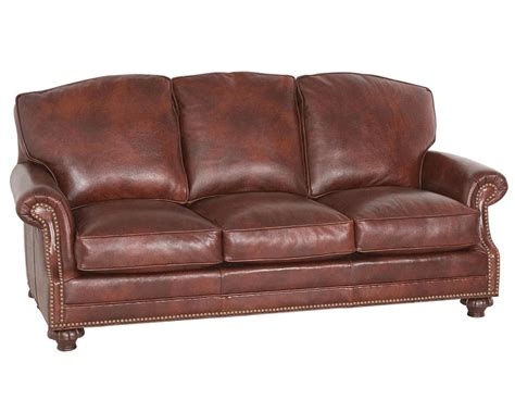 classic leather sofa made usa whitley sofa 863