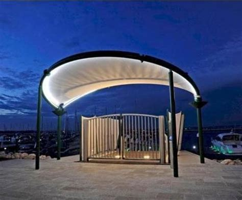 bandshell performance structure fabric architecture uk bandstand ideas