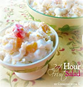 Classic holiday favorite 24 hour fruit salad the ambrosia recipe of