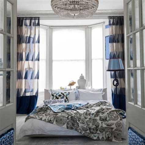 white and blue curtains for bedroom blue bedroom ideas ideal home