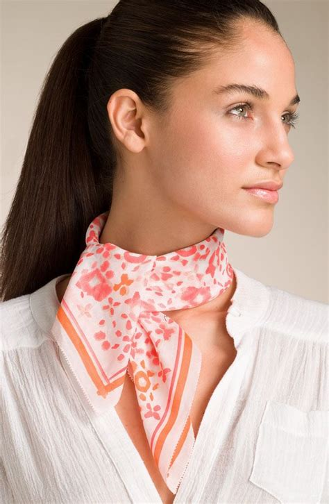 7 Scarf Styles For Fall by 49 Best Wearing A Scarf Neck Shoulder Images On