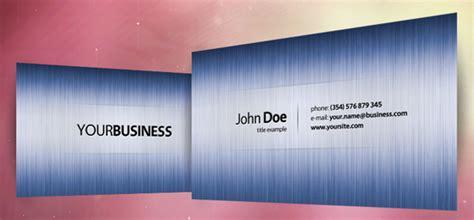 exclusive business cards templates template photoshop psd kartu nama unik free