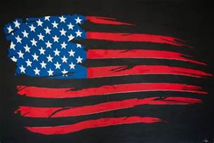 Marvelous Painted American Flag Wall Art #3: 1098593-7.jpg