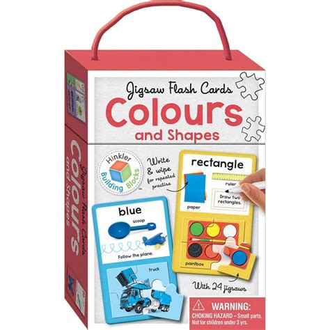 Hinkler Baby S Colours hinkler jigsaw flash cards colours and shapes babyonline
