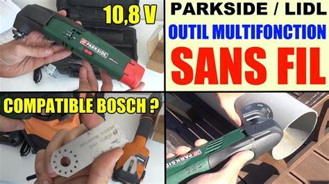 Outil Multifonction Parkside Outil Multifonction Sans Fil Parkside Pamfw 10 8 V Lidl