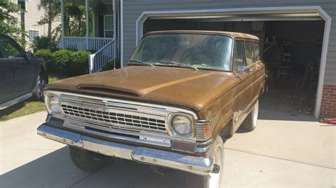 1971 jeep wagoneer 1971 jeep grand wagoneer v8 auto for sale in clayton